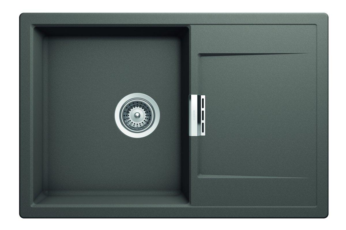 Schock-Houzer 190-9568 Disposal Flange 3-1//2-Inch Opening Speckled Granite Black