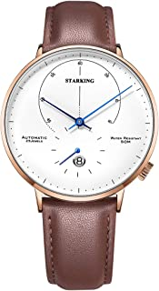 STARKING Top Brand Luxury Automatic Mens Wrist Watch AM0269 stainlessWatch Men Casual Style Fashion Waterproof Watches Scratch Proof Male