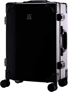 Luggage Classico Zipperless Suitcase With Spinner Wheels (20in, Black)