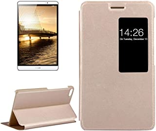 جراب YPShell لهاتف Huawei For Huawei MediaPad M2 Youth Version 7.0 Litchi Texture Flip Leather Case مع حامل ونافذة ذكية