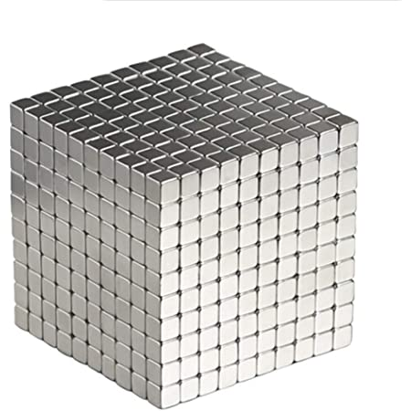 OBEST マグネットボール 強力マジック磁石  5mmx5mmx5mm 立方体パズル (1000)