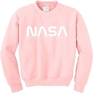 NASA Font Logo Crewneck Sweatshirt Sweater Pullover - Unisex Crew