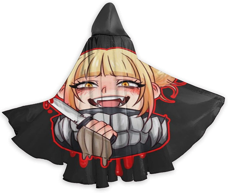 Unisex Hi-Miko Toga Anime Hooded Ranking TOP20 Max 46% OFF Robe Wizard Halloween Cos Cloak