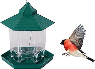 LIQUID Mangeoire à oiseaux à suspendre, mangeoire pour oiseaux, petite et moyenne taille, mangeoire à oiseaux, peut être s...