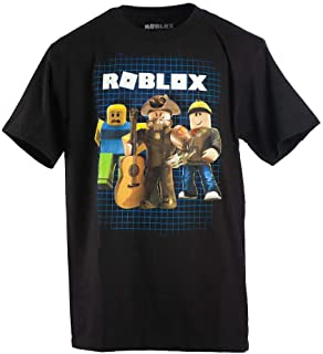 Roblox Boys 8-20 Power Up Tee (Large) Black
