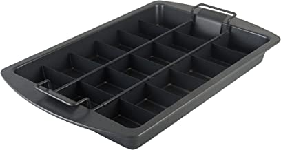 Chicago Metallic Professional Slice Solutions Brownie Pan, 9-Inch-by-13-Inch - 26740
