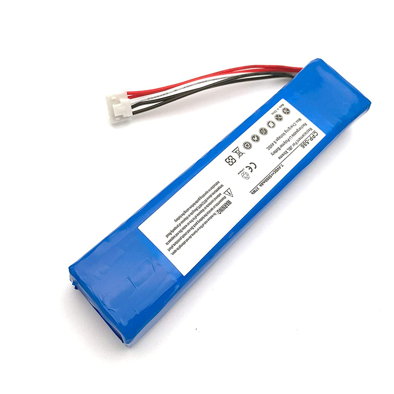 Yafda GSP0931134 7.4V5000mAh/37Wh New Battery for JBL Xtreme Wireless Bluetooth Speaker