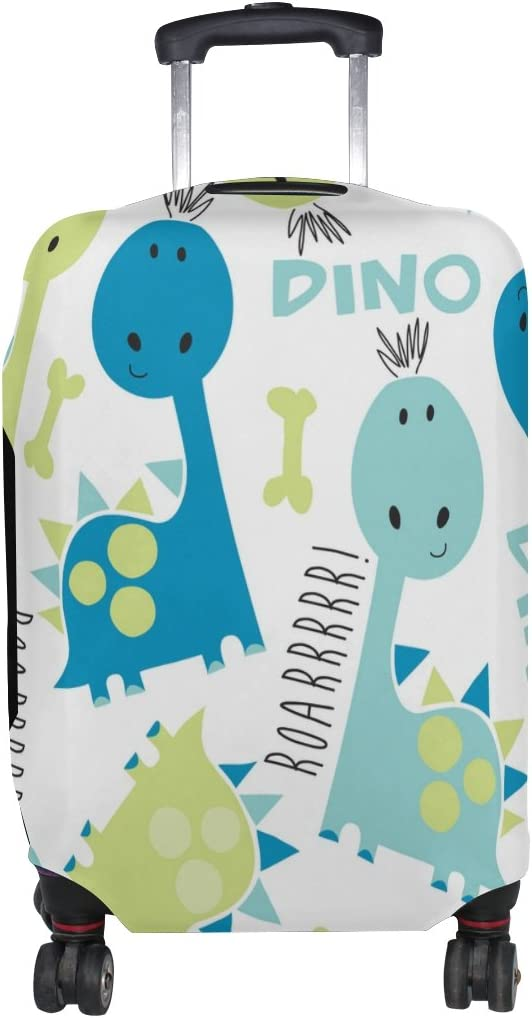 Cooper girl Cute Dinosaurs Travel Suitcase Protect Luggage New arrival 5 popular Cover