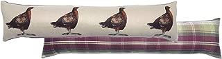 Grouse Cream Heather Tartan Check Evans Lichfield Draught Excluder 90cm x 20cm