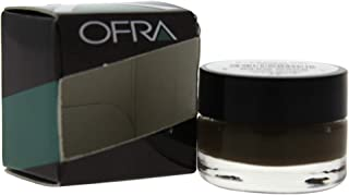 Ofra Eyebrow Gel for Women, Dark Brown - 0.17 oz.