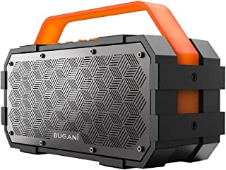 Bluetooth Speaker, Bugani M90 Portable Bluetooth Speaker with 30W Stereo Sound and Deep Bass,Long-Term Playback,Bluetooth ...