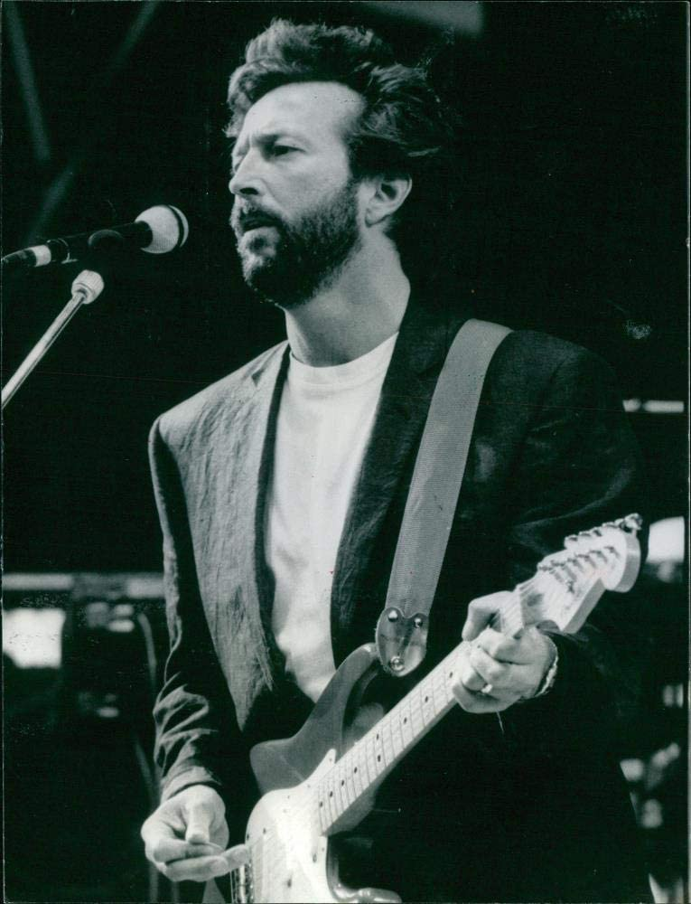Vintage photo of Clapton. Don't miss the 2021 spring and summer new campaign Eric