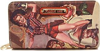 Nicole Lee womens NL American Cowgirl Print Wallet Cl Nicole Lee American Cowgirl Print Wallet Collection