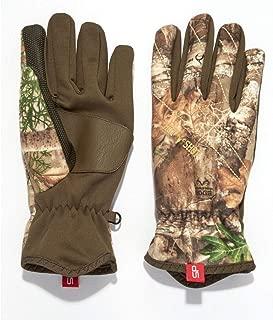 HOT SHOT Men's Camo Eruption Stormproof Glove – Realtree Edge Outdoor Hunting Camouflage