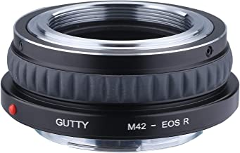 GUTTY Camera Lens Adapter for M42-Mount Lens to Canon EOS R/RP RF-Mount Mirrorless Camera M42-EOSR