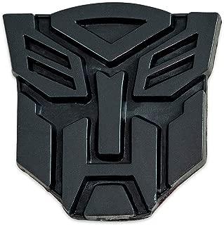 Transformer Autobot Black Finish Auto Emblem - 1