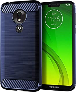 Asmart Moto G7 Power Case,Moto G Power 7th gen Case,Moto G7 Supra Case, Shock Absorption Moto G7 Power Phone Case Slim TPU Cover Flexible Protective Case for Motorola Moto G7 Power/Moto G7 Supra,Blue