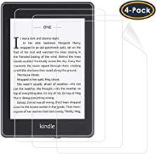 QIBOX Compatible Kindle Paperwhite Screen Protector (10th Generation - 2018 Release), Anti-Glare Matte Protective Shield Premium Screen Protector for All-New Kindle Paperwhite Anti-Fingerprint(4-Pack)