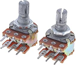 Tellaboull 3590 10 Giri Potenziometro 50k Ohm Wirewound Multiturn Resistore regolabile Precisione con Manopola Manopola Rotante 6mm Albero
