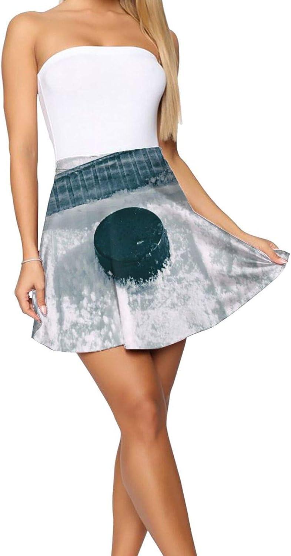 Nautical Compass Women's Short Skirt Stretch Waist Casual Lightweight Skirt