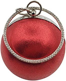 Party Evening Handbags Clutch Women Shoulder Bags Circle Women Fashion Ball Pattern Evening handbags Crossbody Bag