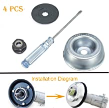 SYITCUN Trimmer Head Adaptor Kit Gardening Machine Lawnmower Blade Adapter Attachment Maintenance Washer Kit Replacement for STIHL String Trimmers Brush Cutter