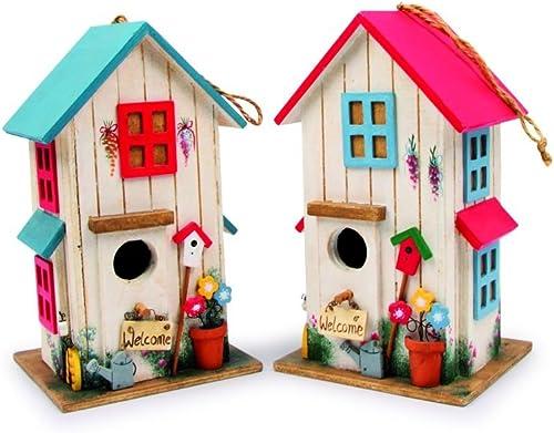 Maison pour oiseaux «Villa des couleurs»,