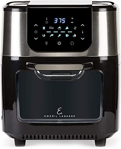 2021 Emeril Everyday online Emeril Lagasse AirFryer Pro high quality with Rotisserie and Dehydrate, 6 Quart, Black and Stainless Finish outlet online sale
