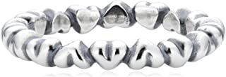 PANDORA Sterling Silver Forever Love Stackable Ring