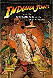 Indiana Jones Raiders of The Lost Ark Movie Tin Sign Metal Sign Tin Sign Garage Home 8x12Inches