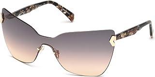 Just Cavalli Sonnenbrille Jc826s 72b-0-0-130 Montures de lunettes, Rose (Shiny Pink/Gradient Smoke), 130 Femme