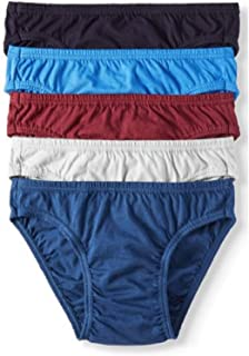 Life 5-Pack Men's 24/7 Comfort 100% Cotton Bikinis - Assorted