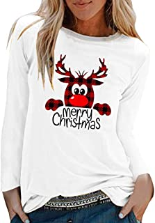 Women Loose O Neck Long Sleeve Fall Winter Letter Print Sweatshirt Warm Top Teen Girls Sport Pullover