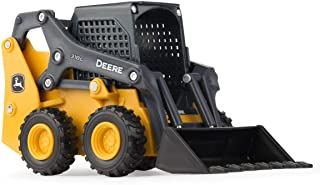 TOMY John Deere 318G Skid Steer (1:32 Scale), Yellow