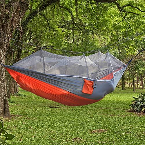 BASA Hamaca mosquitera para Exterior, Cama abatible para 2 Personas, Hamaca para jardín, Hamaca Ultraligera para Exterior, 260 * 140 cm