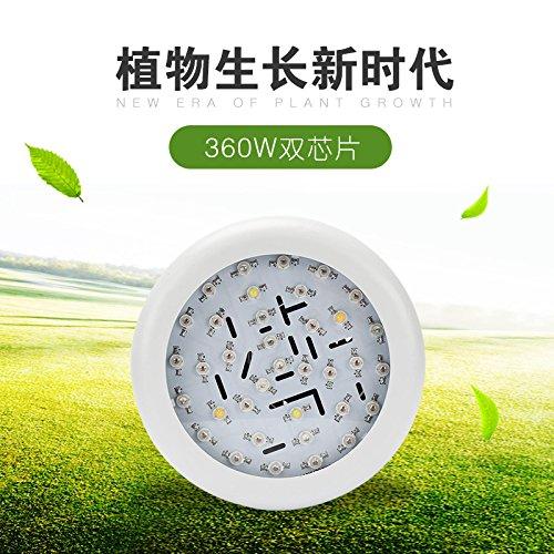 360 W puce Double installation de Blanc Lampe haute puissance usine Indoor la croissance Lampe LED lumière de remplissage Ue-360W