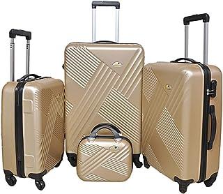 حقيبة بعجلات لكلا الجنسين من نيو ترافيل - ذهبي