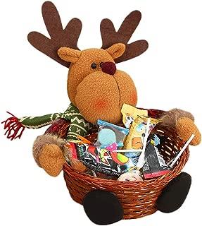 Sylar Canasta De Almacenaje De Dulces Navidad Decoración