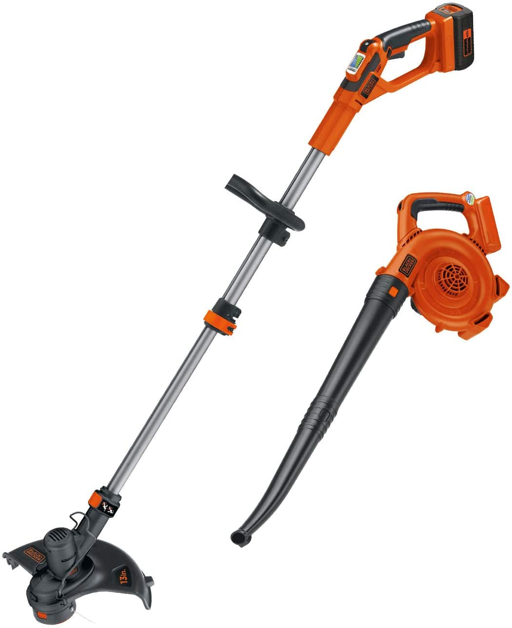 BLACK+DECKER LCC140 String Trimmer and Sweeper Combo Kit