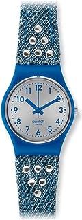 Swatch Women's LS114 Wash Machine Year-Round Analog Quartz Blue Watch