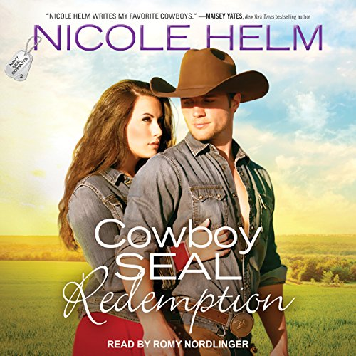 Cowboy SEAL Redemption     Navy SEAL Cowboys Series, Book 2              De :                                                                                                                                 Nicole Helm                               Lu par :                                                                                                                                 Romy Nordlinger                      Durée : 10 h et 14 min     Pas de notations     Global 0,0