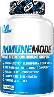 Evlution Nutrition Immune Mode - Broad Spectrum Immune Support, with Potent Antioxidant Complex, Probiotics, Elderberry, V...
