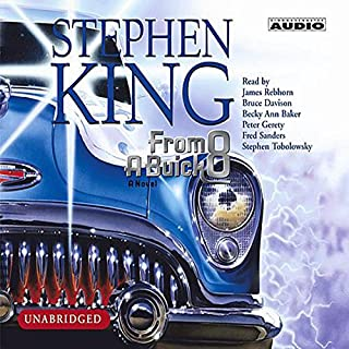 From a Buick 8                   Auteur(s):                                                                                                                                 Stephen King                               Narrateur(s):                                                                                                                                 James Rebhorn,                                                                                        Bruce Davison,                                                                                        Becky Ann Baker                      Durée: 13 h et 23 min     10 évaluations     Au global 4,3