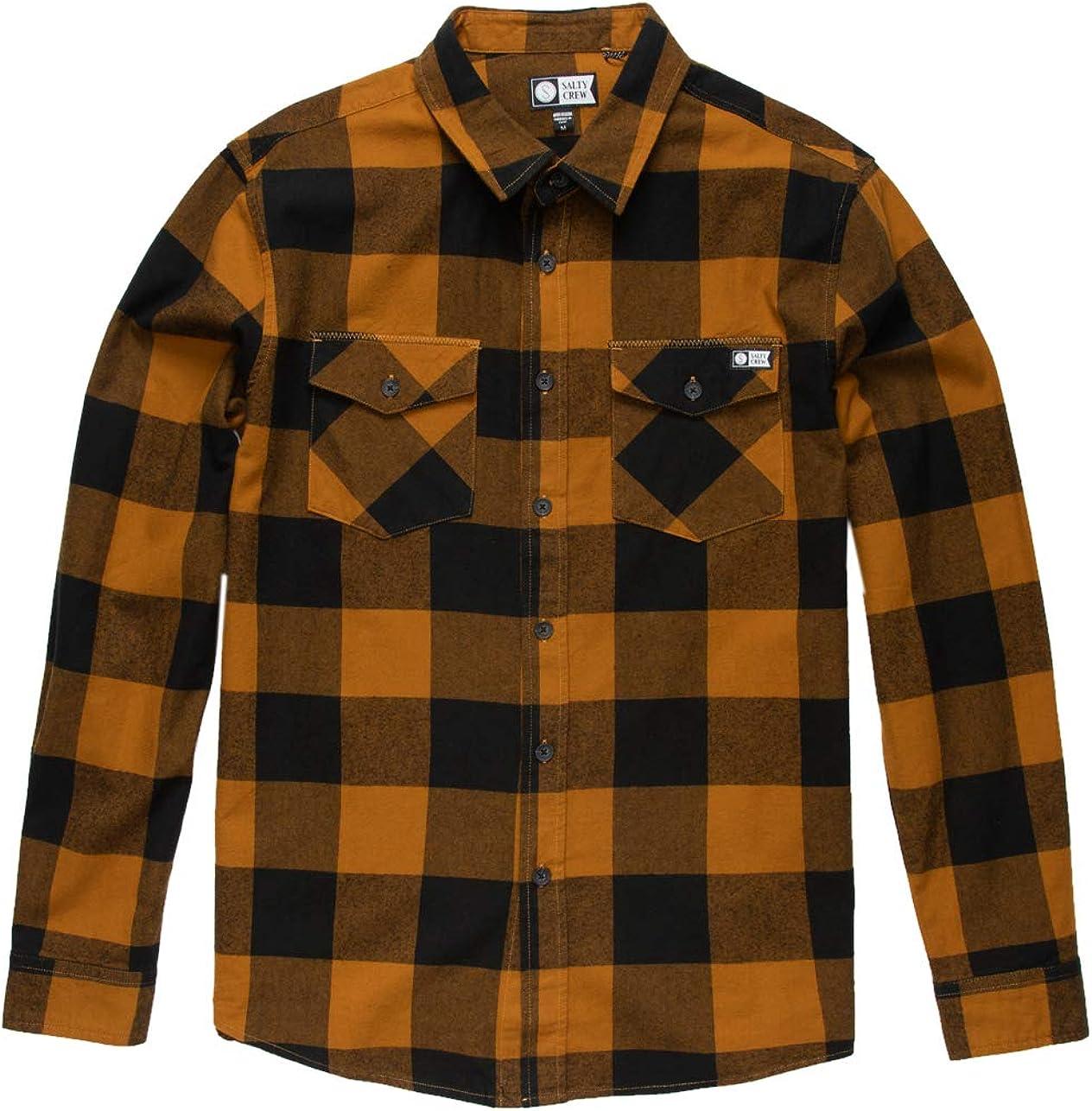 Salty Crew online shopping Over item handling Buffer Flannel