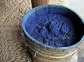 Lana y Telar Índigo (Indigofera tinctoria), Tinte Natural 100% para Hilos y Fibras Naturales. 100gr.