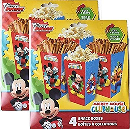 Disney Junior Mickey Mouse Clubhouse 8 Snack Boxes