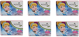 Pack of 6 - Biotique Cindrella Disney Princess Almond Nourishing Soap for Kids - 75g