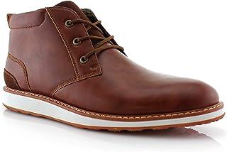 Ferro Aldo Houstan MFA506031 Mens Chukka Ankle Memory Foam Lightweight Casual Mid-Top Desert Sneaker Boots