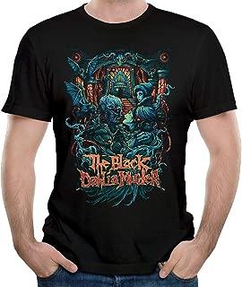 Man The Black Dahlia Murder Short Sleeve Top T-Shirt Young Music Band Tees Black