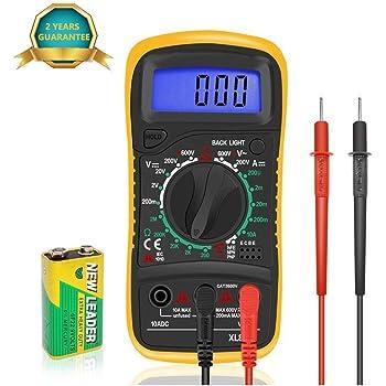 Multimeter Handheld Digital Multitester//Multimeter EXCEL XL830L Volt Testing LCD Digital Multimeter Multi-Tester
